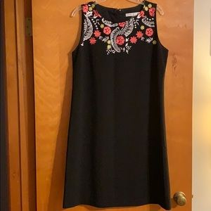 Peter Nygard - black shell dress